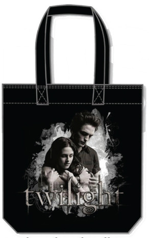 Twilight Tote Bag - Edward Cullen and Bella Swan