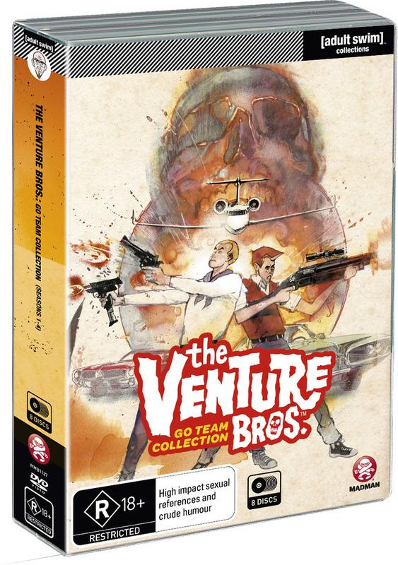 The Venture Bros. Go Team Collection on DVD