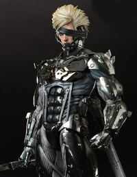 "Metal Gear Rising Raiden 12"" Figure"