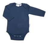 Babu Merino Bodysuit - Navy (3-6 Months)