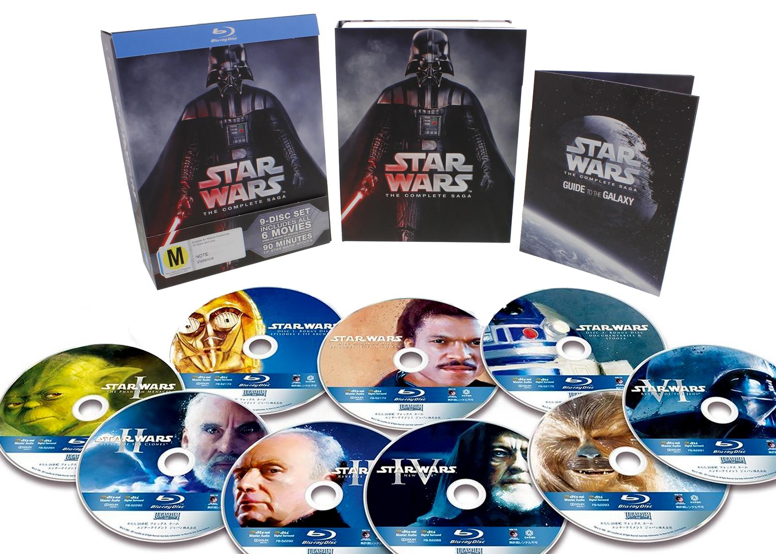Star Wars - The Complete Saga on Blu-ray image