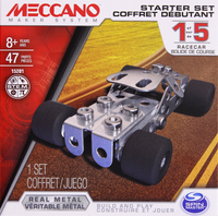 Meccano: 1 Model Starter Set - Racecar