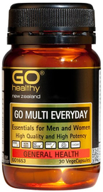 Go Healthy GO Multi Everyday (30 Capsules)