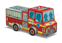 Crocodile Creek: Fire Engine Jigsaw Puzzle - 48pc