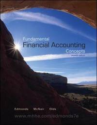 Fundamental Financial Accounting Concepts by Thomas P Edmonds image