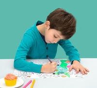 Omy Coloring Placemat Set (24 Sheets)