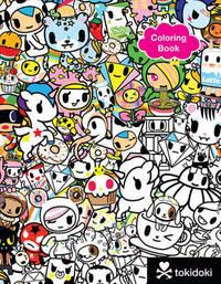 tokidoki Coloring Book by Tokidoki