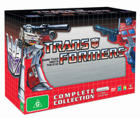 Transformers (1984) - Complete Collection (17 Disc Box Set) on DVD image