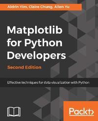 Matplotlib for Python Developers by Aldrin Yim