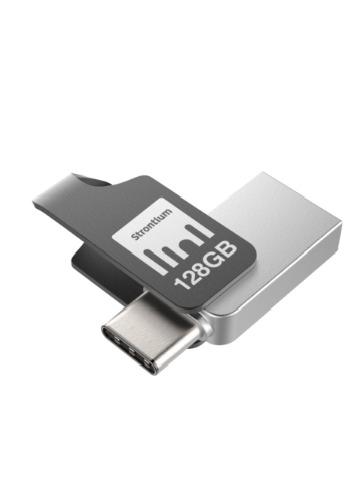 Strontium 128G NITRO PLUS Drive & Type-C & USB 3.1