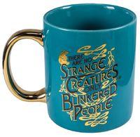 Fantastic Beasts - Niffler Gold Electroplated Mug image
