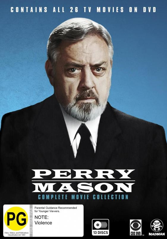 Perry Mason Complete Movie Collection on DVD