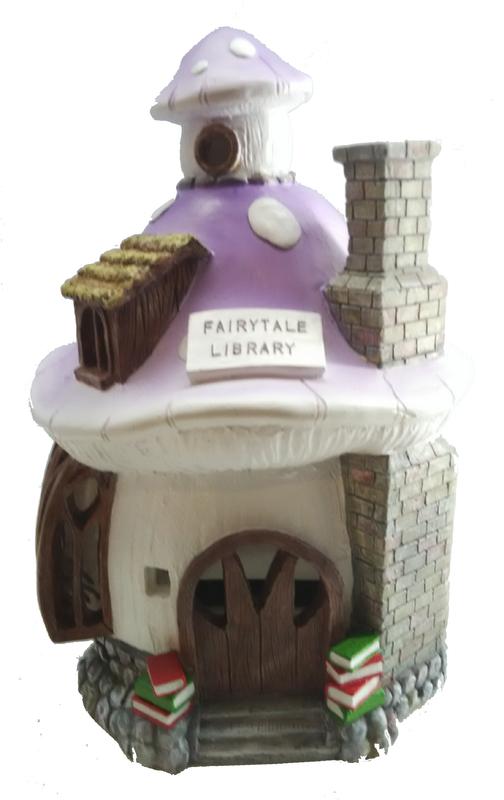 Cotton Candy: Solar House Fairytale Library