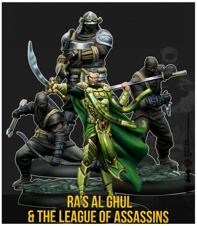 Batman: Miniatures Game - Ras Al Ghul & The League of Assassins Character Pack