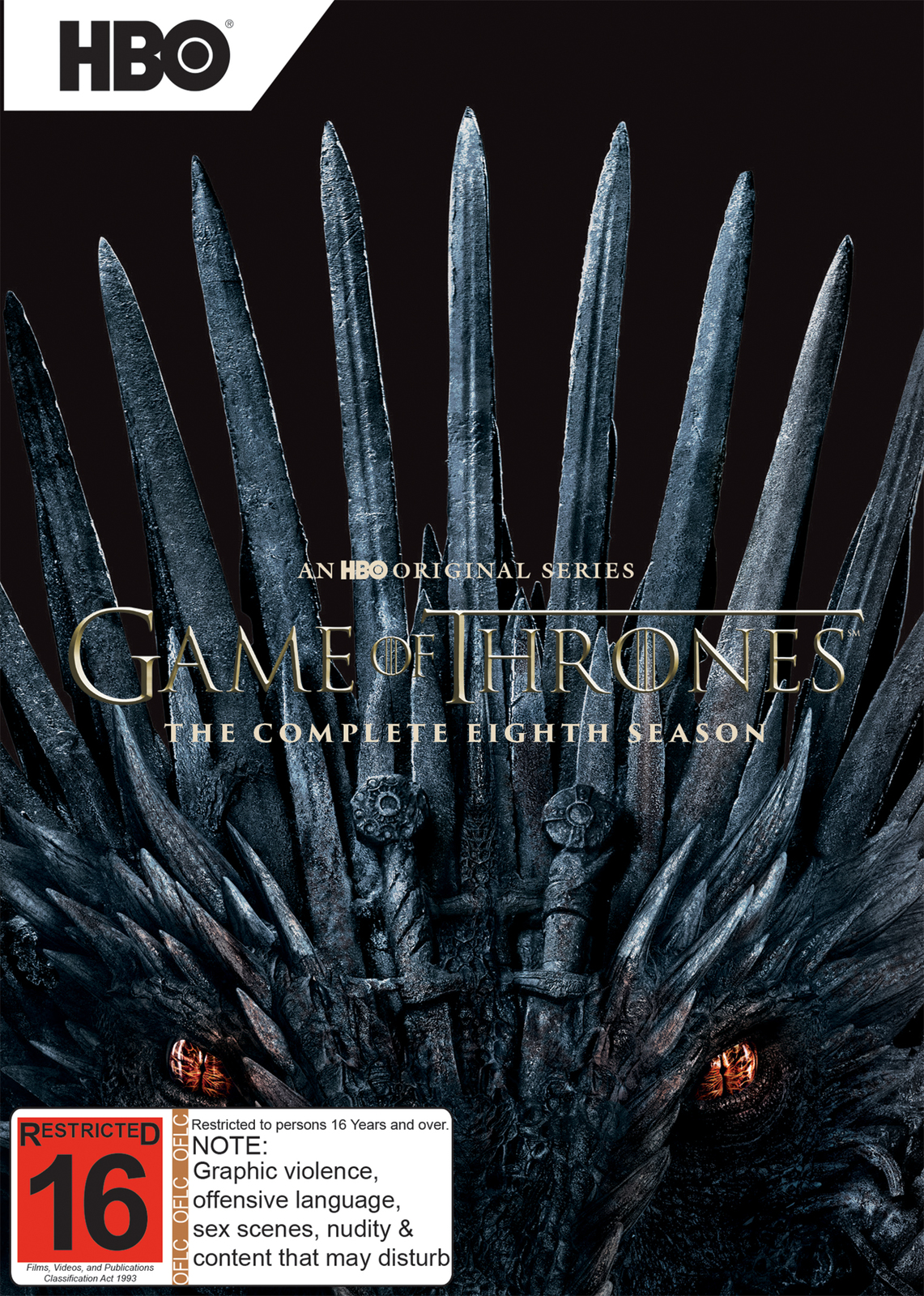 Game of Thrones Season 8 on DVD image