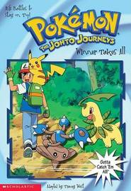 Winner Takes All Pokemon Chapter Book by Tracey West