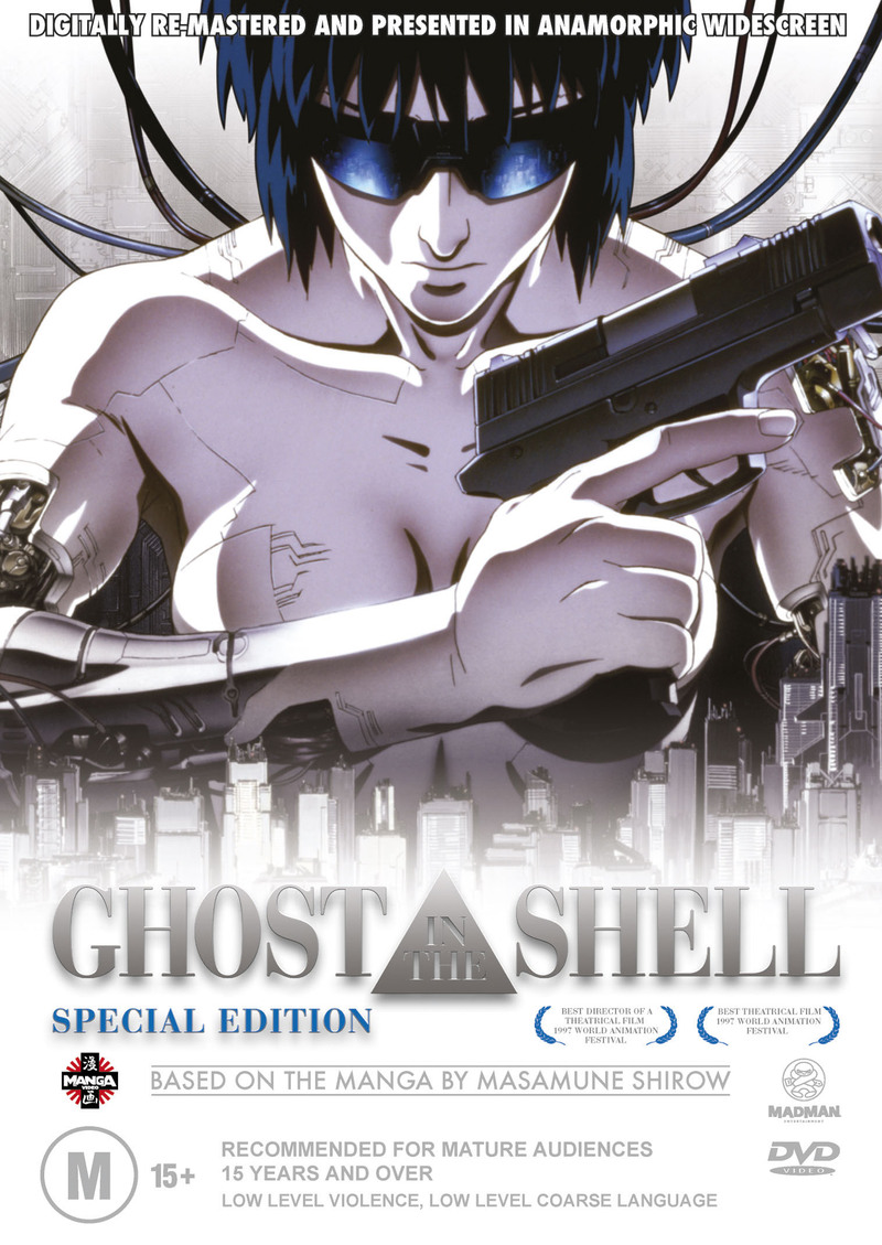 Ghost In The Shell: Special Edition (Essential Anime) on DVD image