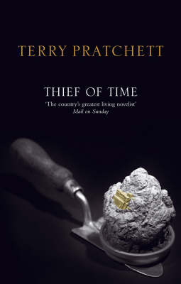 Thief of Time (Discworld - Death / History Monks) (black cover) by Terry Pratchett