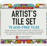 Artist's Tile Set: 75 Acid-Free White Tiles (Studio Series)