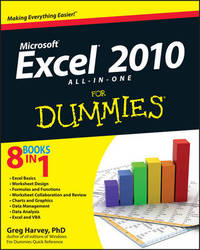 Excel 2010 All-In-One for Dummies (R) by Greg Harvey