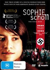 Sophie Scholl - The Final Days on DVD