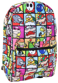 Nintendo Super Mario Villains Backpack