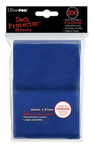 Ultra Pro: Deck Protector - Standard Blue (100ct)