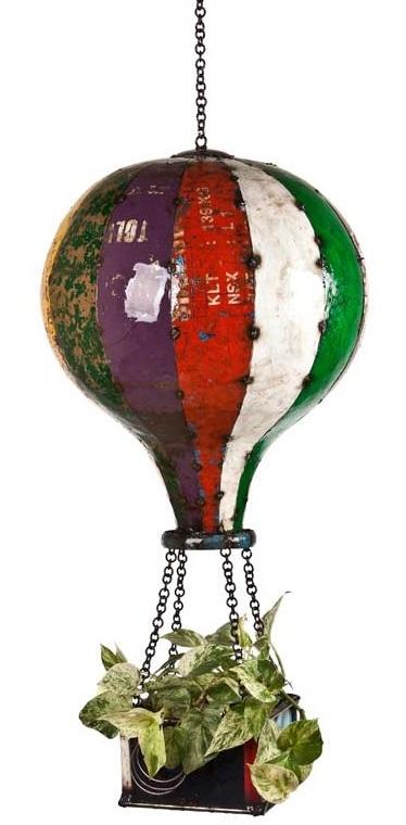 Hot Air Balloon Planter Small At Mighty Ape Australia