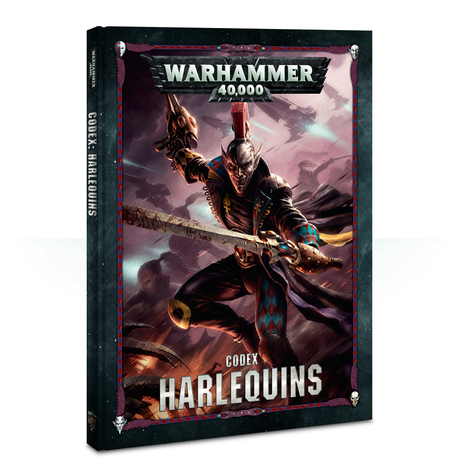 Warhammer 40,000 Codex: Harlequins image