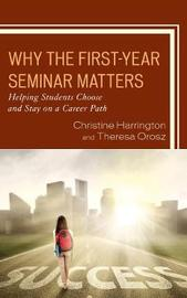 Why the First-Year Seminar Matters by Christine Harrington image