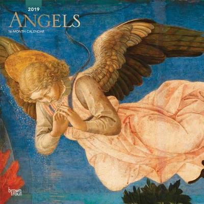 Angels 2019 Square Wall Calendar by Inc Browntrout Publishers image