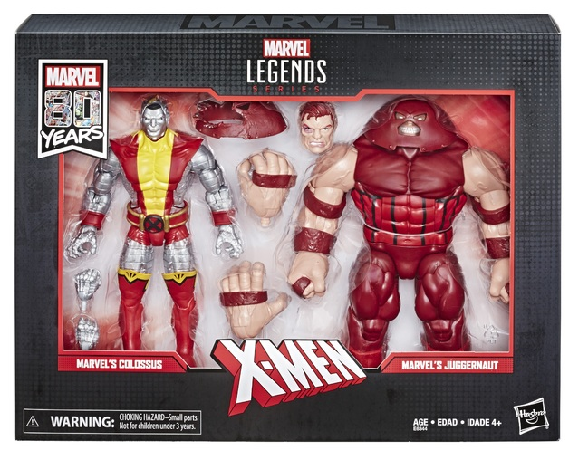 Marvel Legends: Action Figure 2-Pack - Colossus vs. Juggernaut