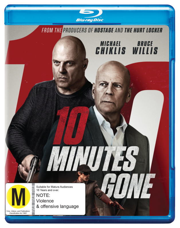 10 Minutes Gone on Blu-ray