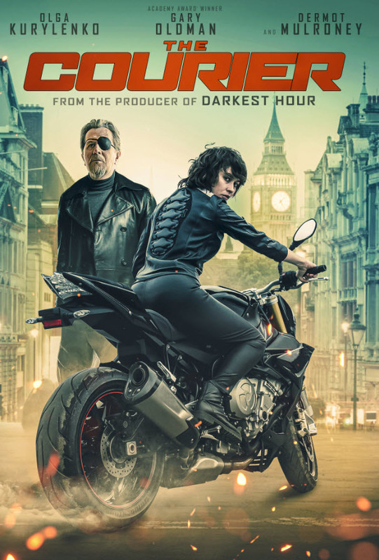 The Courier (2019) on DVD