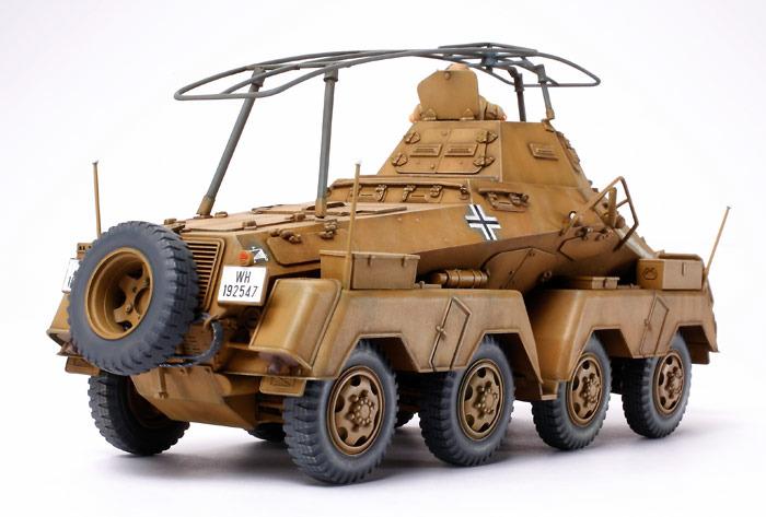 Tamiya German 8 Wheeled Heavy Armoured Car Africa Corps