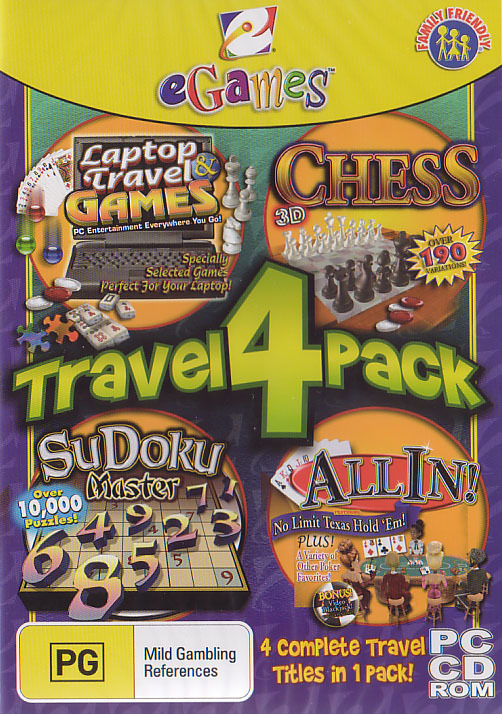 eGames Travel 4-Pack for PC Games