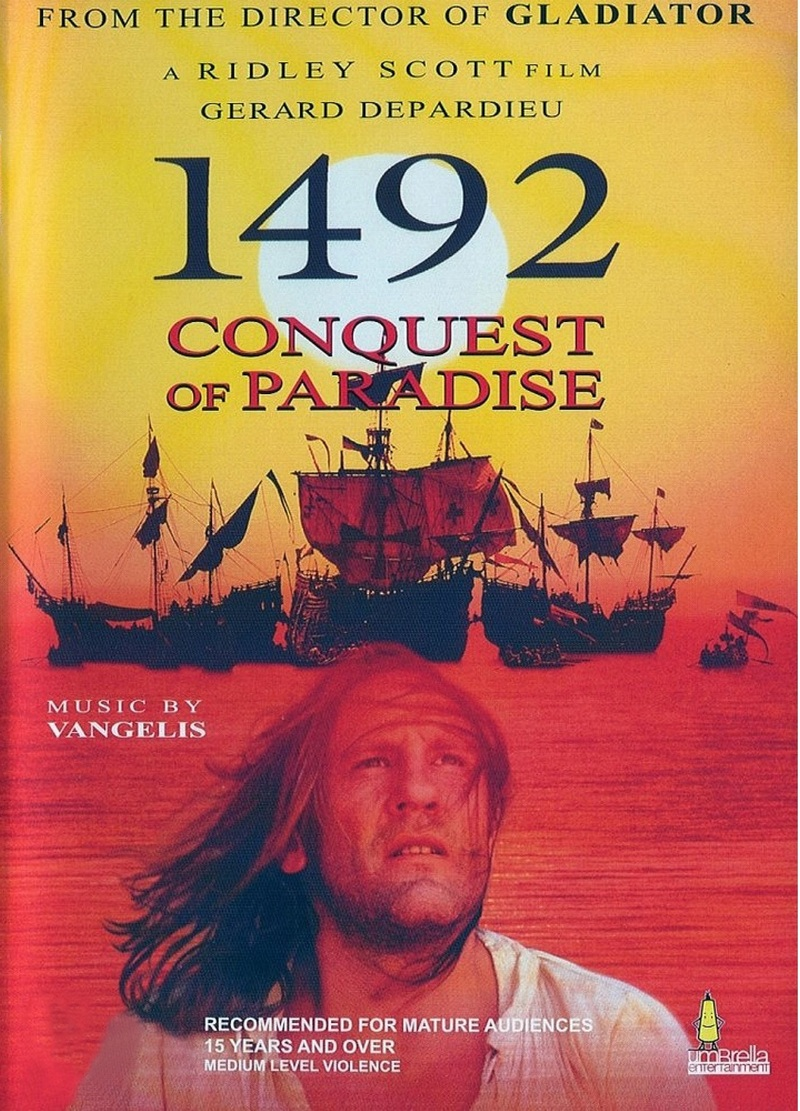 1492 - Conquest Of Paradise on DVD image