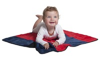 Mum 2 Mum Play n' Change Mat - Red/Navy image