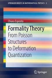 Formality Theory by Chiara Esposito