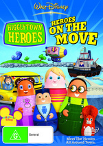 Higglytown Heroes - Vol. 2: Heroes On The Move on DVD