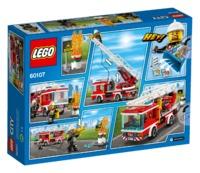 LEGO City - Fire Ladder Truck (60107) image