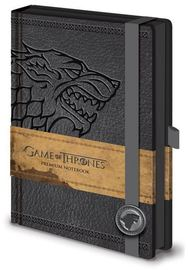 Game of Thrones Premium A5 Notebook - House Stark