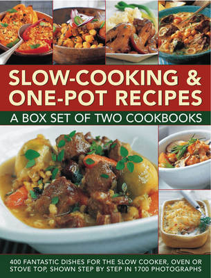 Slow-cooking & One-pot Recipes: a Box Set of Two Cookbooks by Catherine Atkinson image
