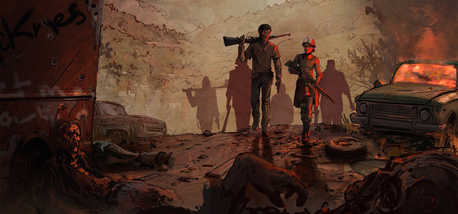 The Walking Dead - Telltale Series: The New Frontier for Xbox One image