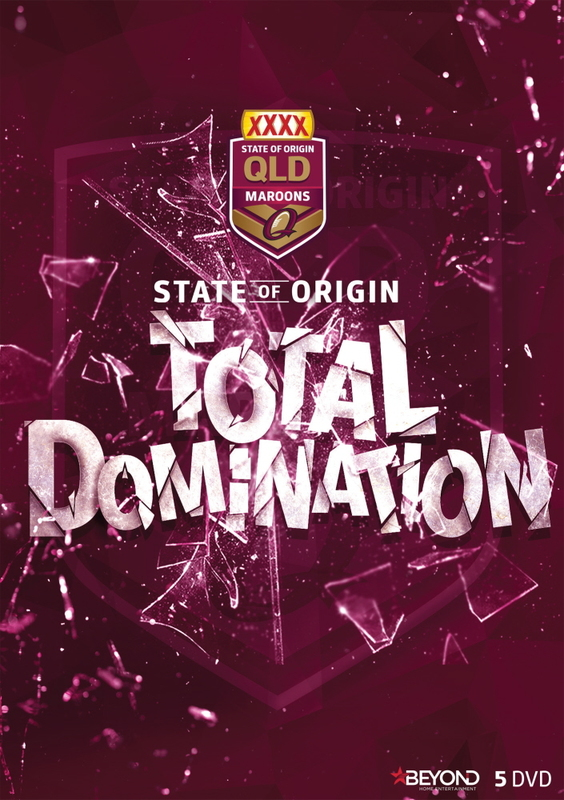 State of Origin: Total Domination - Queensland on DVD