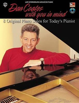 Dan Coates with You in Mind: 8 Original Piano Solos for Today's Pianist, Book & CD image