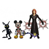 Kingdom Hearts: Select Action Figure 3-Pack - Mickey/Axel/Dust