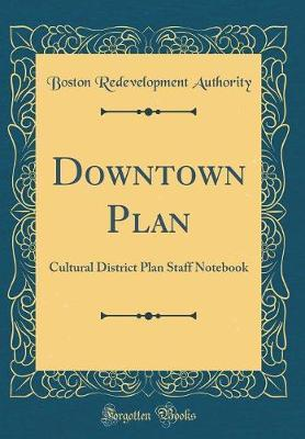 Downtown Plan by Boston Redevelopment Authority
