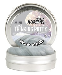 Crazy Aaron Thinking Putty: Mini Tin - Snow Angel