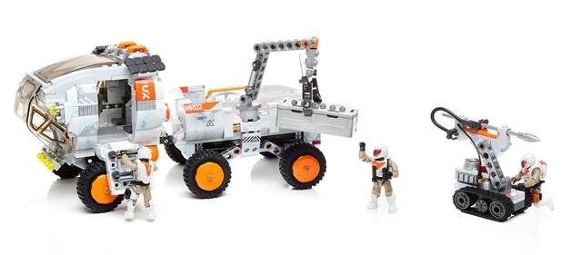 Mega Construx: Probuilder Set - Space Rover Expedition